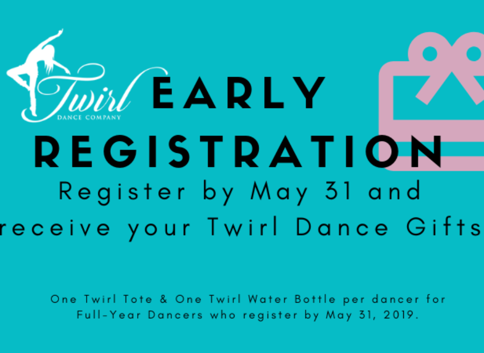 Early Registration 2019